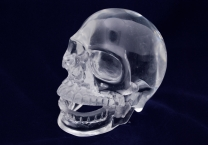 hand carved crystal skulls