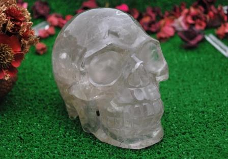Smokey quartz Skull