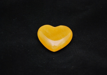 Calcite heart