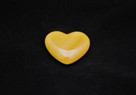 Calcite heart