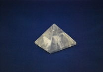Crystal quartz pyramid