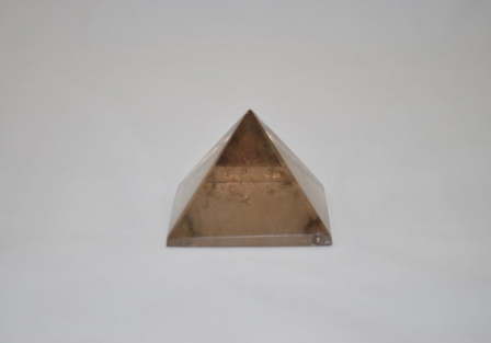 Smokey quartz pyramid