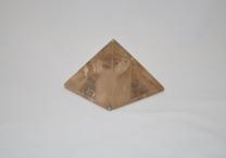 Smokey quartz pyramid
