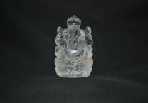 Crystal quartz Lord Ganesha
