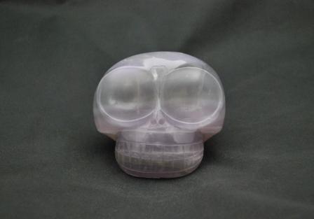 Mongolian style Fluorite Skull