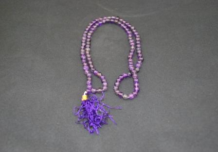 Amethyst mala, 108 Beads