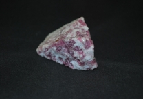 Rubellite crystal on Quartz