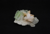 Apophyllite with Stilbite