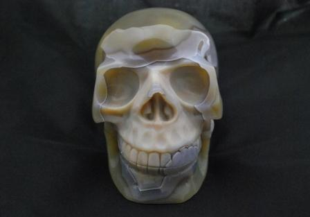 Agate Skull