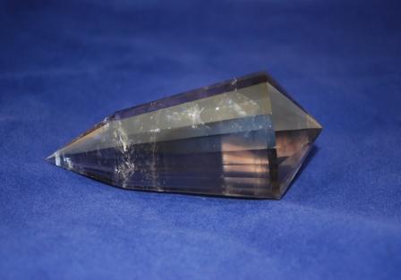 Smokey quartz Vogel crystal