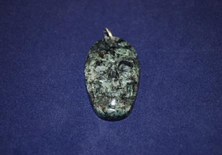 Merlin Skull Pendant
