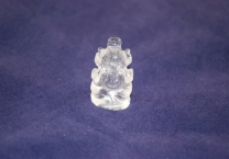 Crystal quartz Lord Ganesha