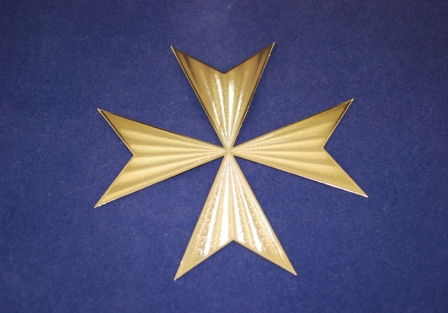Cross of Saint Germain, Gold plated