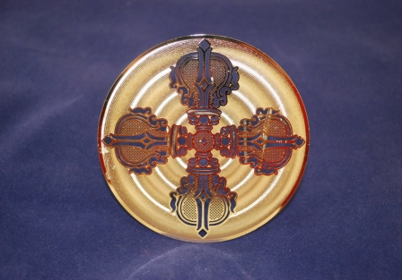 Double Dorje, Gold plated