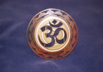 Om Mandala, Gold plated