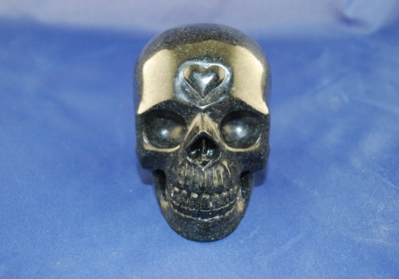 Avalon Black stone Skull