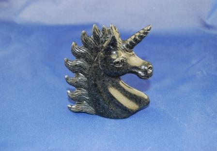 Avalon Black stone Unicorn