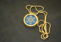 Flower of Life&Cube of Metatron Aroma Pendant