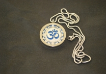 Om&Sri Yantra Aroma Pendant