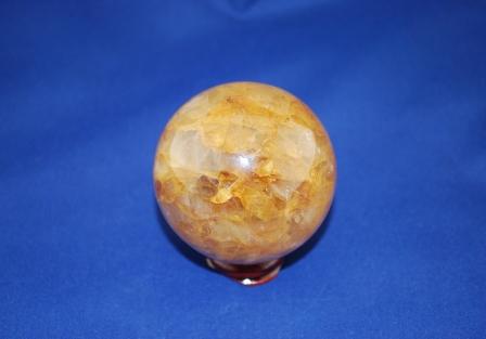 Golden healer quartz Sphere