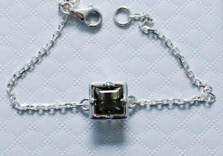 Moldavite Bracelet